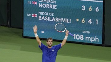 Cameron Norrie first Brit to win Indian Wells mens singles