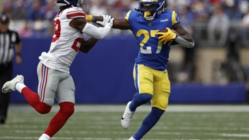 Rams win easily but there were Giant disappointments