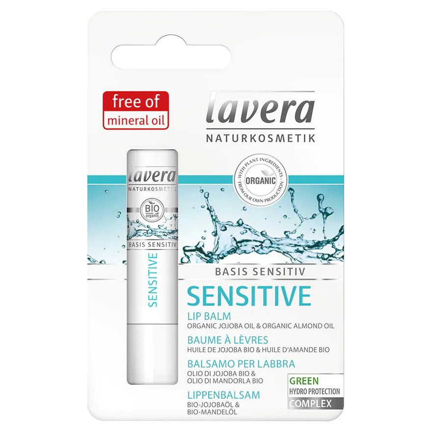 【消委會推介】No.4 Lavera 有機抗敏潤唇膏 4.5g $39