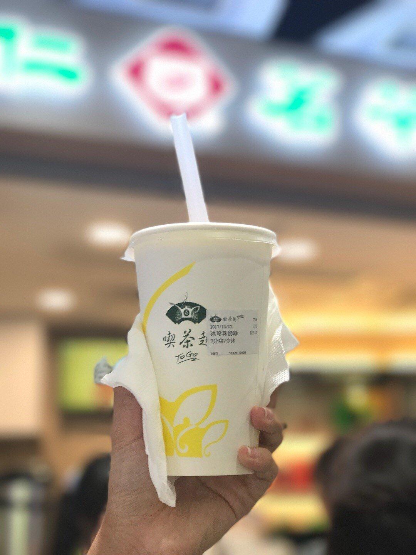 天仁茗茶 珍珠奶茶 卡路里 : 602 kcal(圖片來源:Openrice@嘴刁大小姐)