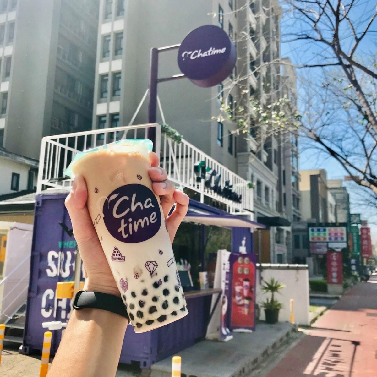 日出茶太 珍珠奶茶 卡路里 : 465 kcal(圖片來源:FB@日出茶太 - CHATIME)