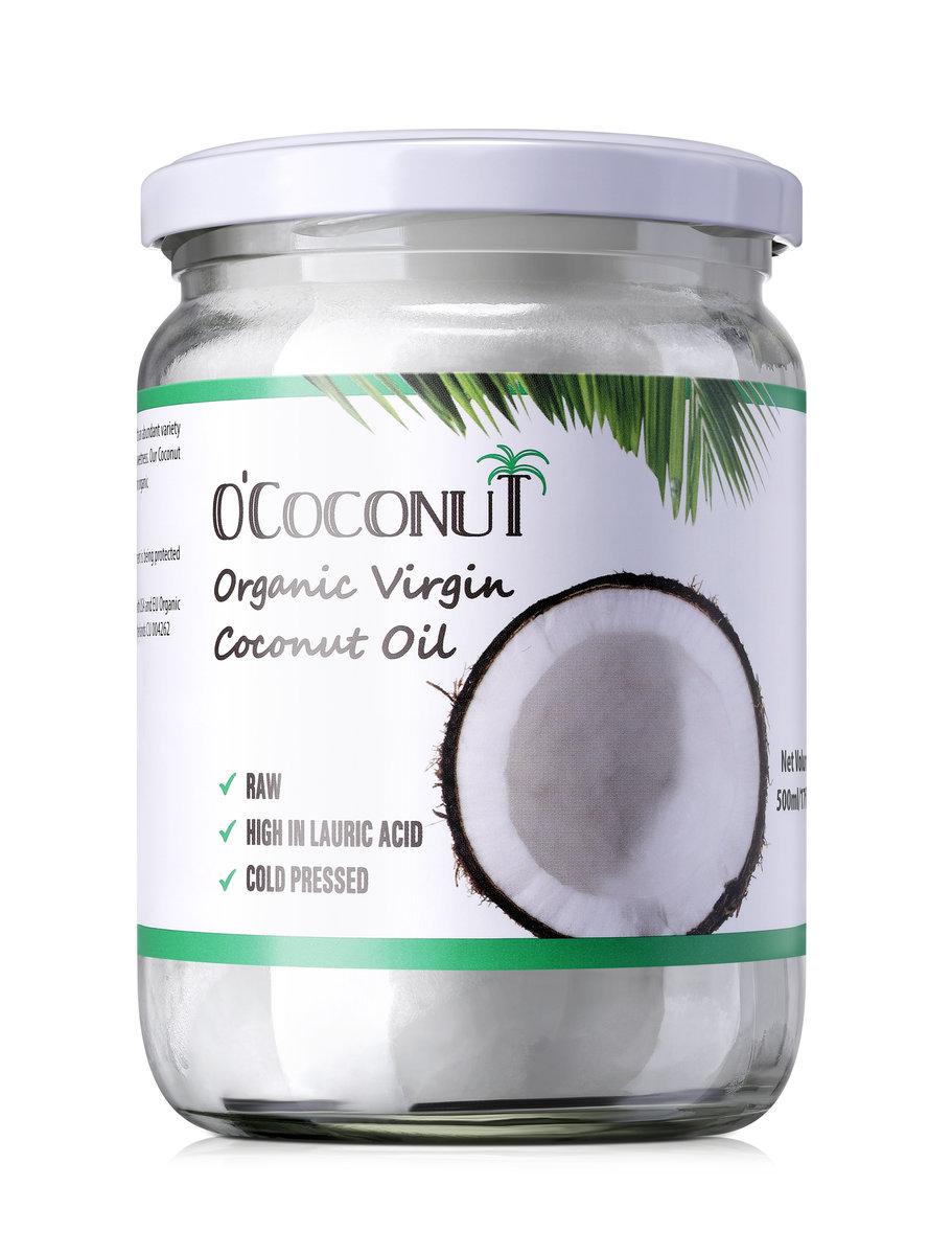 O'COCONUT - 有機初榨冷壓椰子油 500ml HK$92
