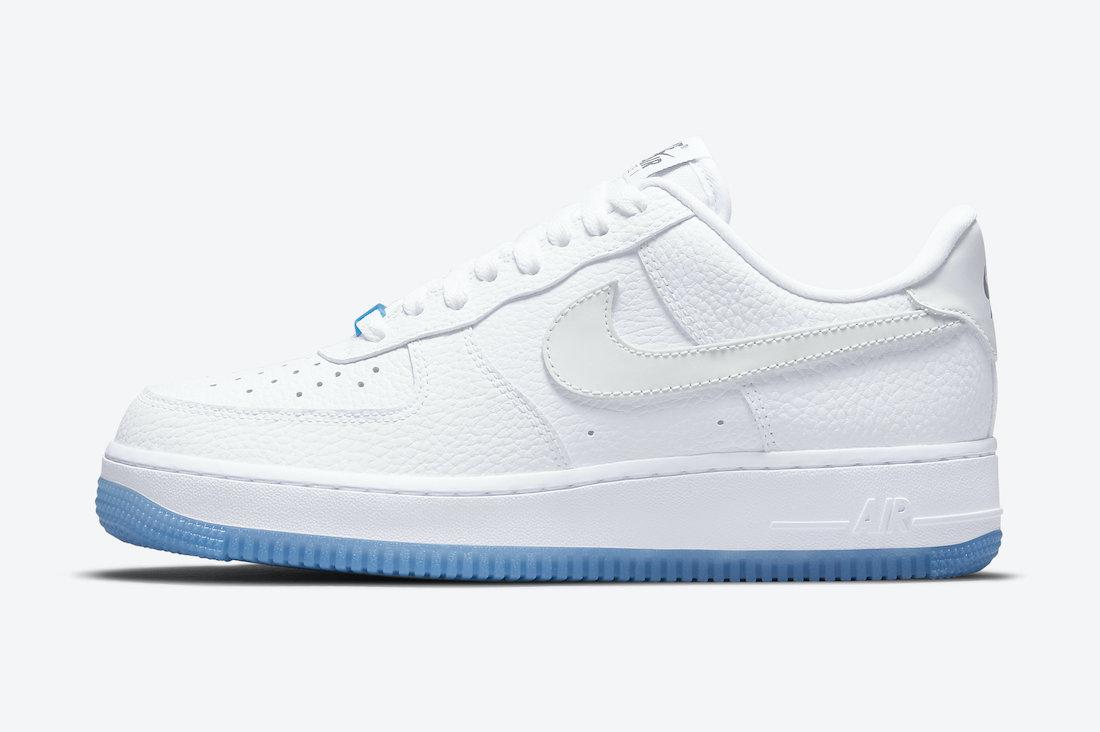 Nike Air Force 1 Low UV 未變色時 (圖片來源:官方圖片)