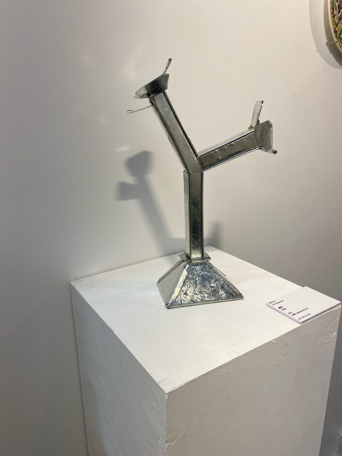 陸貞元白鐵創意作品(圖片來源:官方圖片)