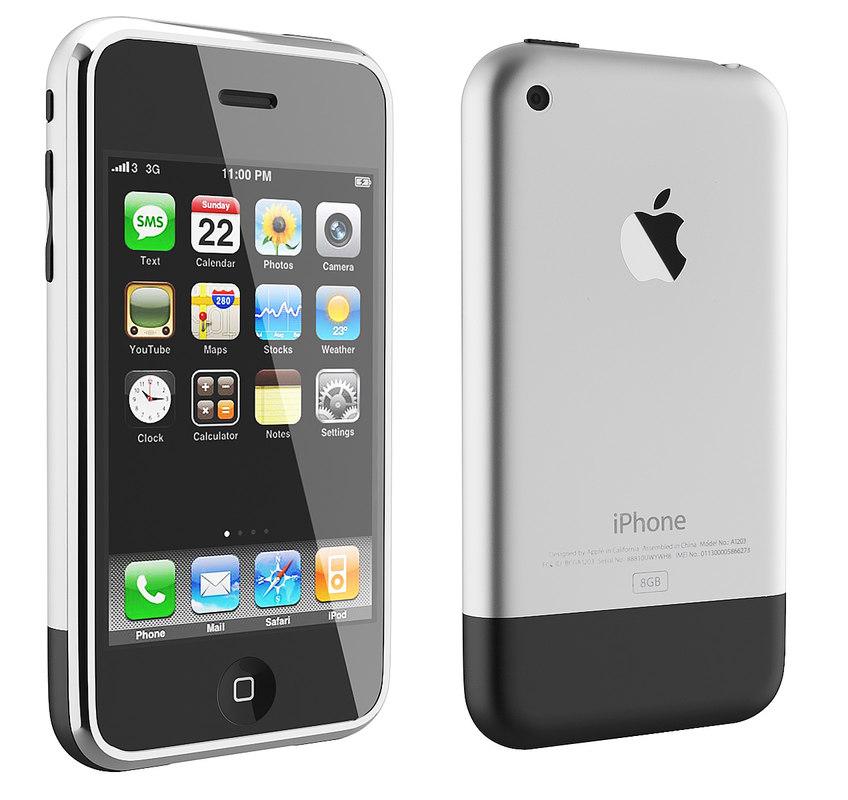 初代iPhone的廬山真面目