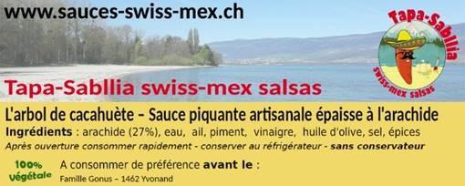 tiquette-Tapa-Sabllia-2018-plage-jaune Nouvelles étiquettes 2018 pour les sauces piquantes swiss-mex !