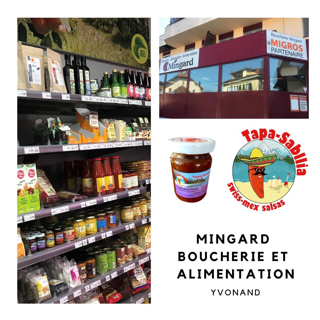 Mingard-Yvonand Acheter nos sauces piquantes : les points de ventes