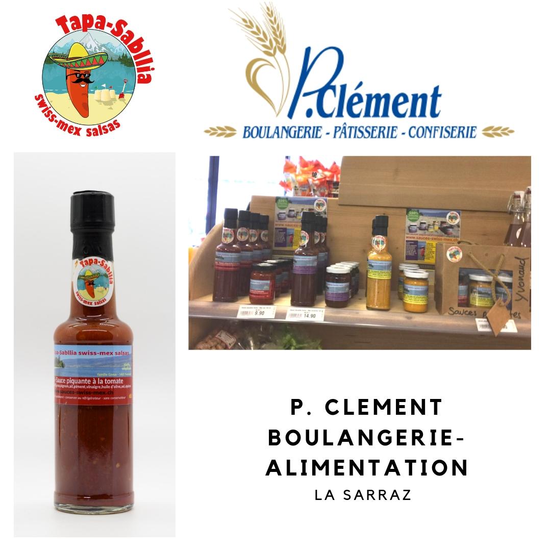 Boulangerie-Clément-La-Sarraz Acheter votre sauce piquante à Daillens, Bottens, Ecublens, La Sarraz ou Cuarnens !