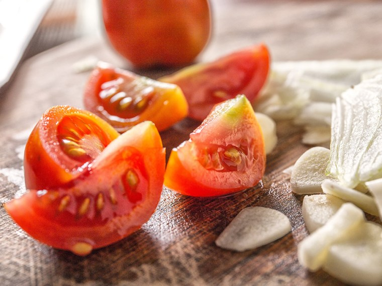 Salada de tomate | Saudades de Portugal
