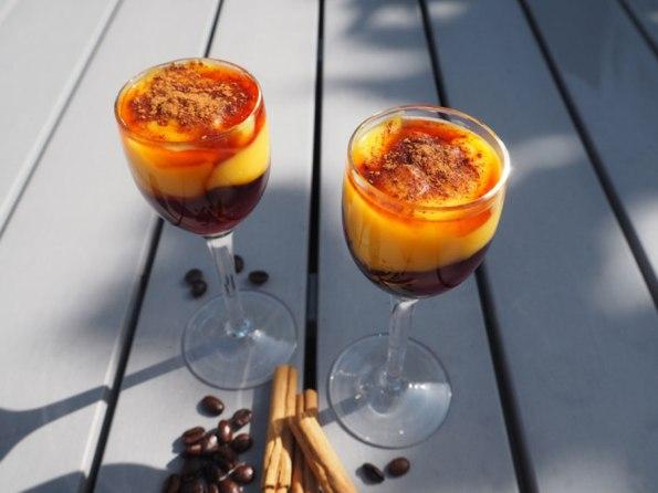 Pastel de nata shotjes | Saudades de Portugal