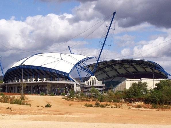 Voetbalstadions ek 2004
