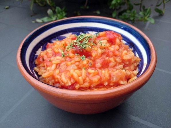Arroz de Tomate | Saudades de Portugal
