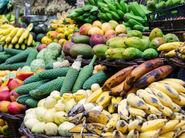 Exotisch fruit Madeira | Saudades de Portugal