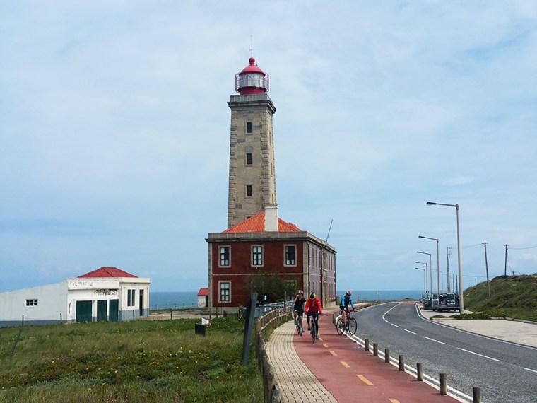 Fietsen: van São Pedro de Moël naar Nazaré