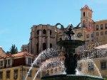 Downtown Lissabon