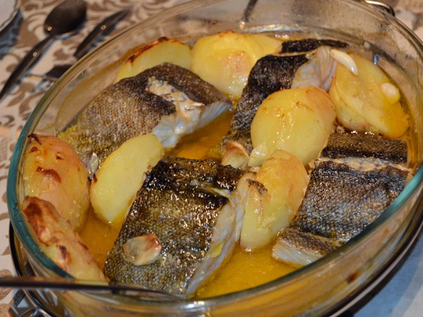 Bacalhau à Lagareiro