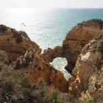 De Kliffen van de Algarve