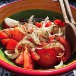 Barbecue tijd: Salada de tomate