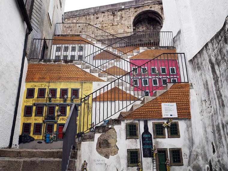 Street art Vila Nova de Gaia | Saudades de Portugal