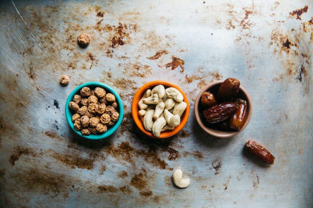 frutos secos oleaginosas