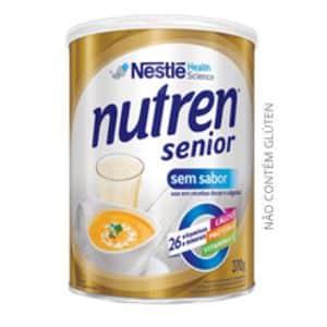 Nutren Senior sem sabor