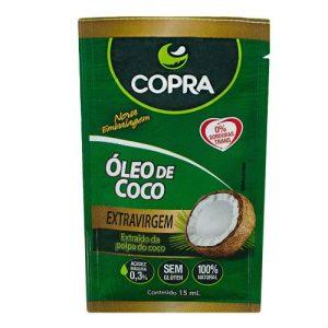 oleo de coco sache copra