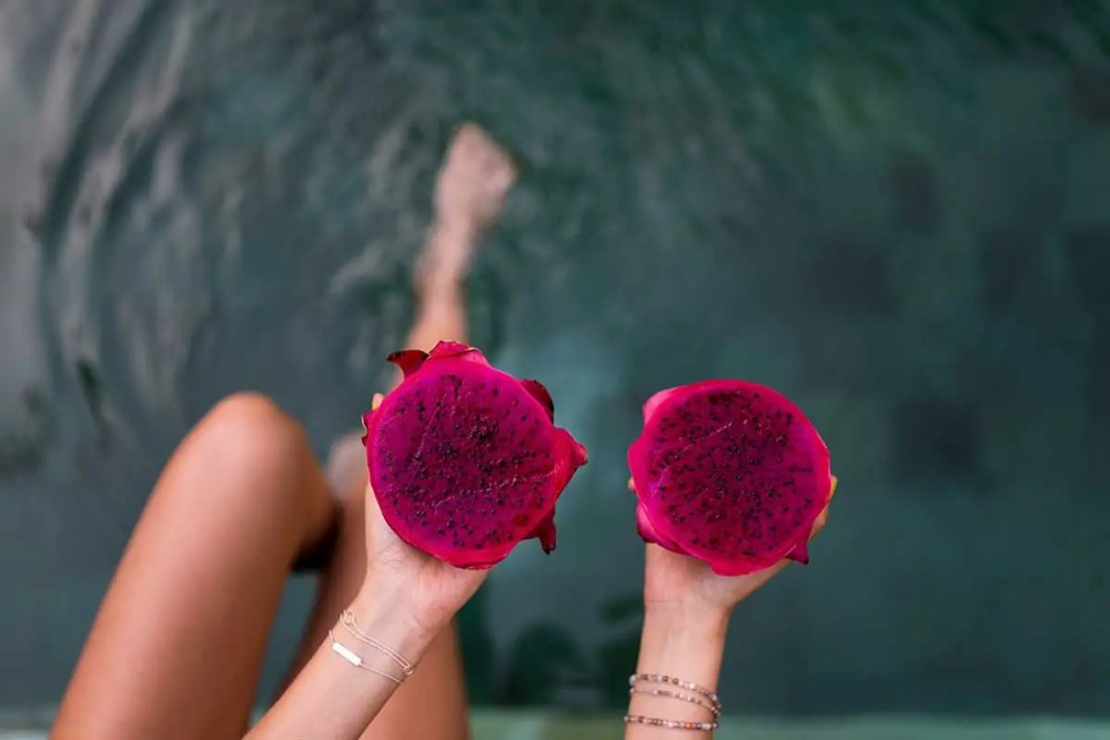 cosmético de pitaya