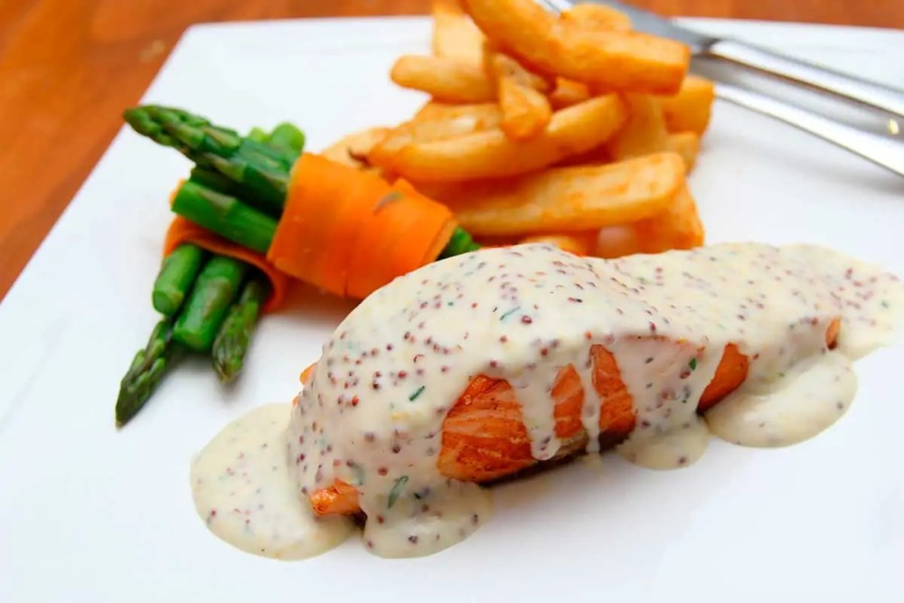 salmão picante