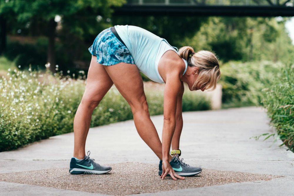 alongar antes ou depois de correr