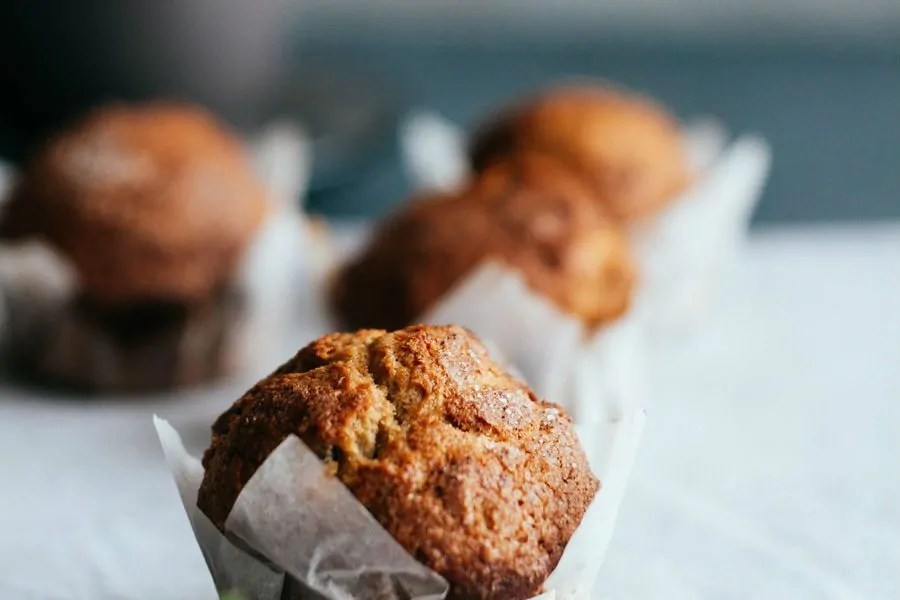 whey protein muffin