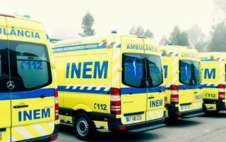 Covid-19, ambulâncias