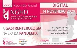 XXXV Reunião Anual do NGHD - Virtual @ Hotel MH Atlântico, Peniche