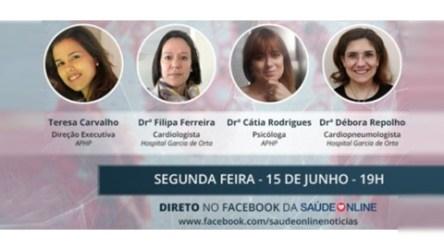 Facebook Live hipertensão pulmonar durante a pandemia
