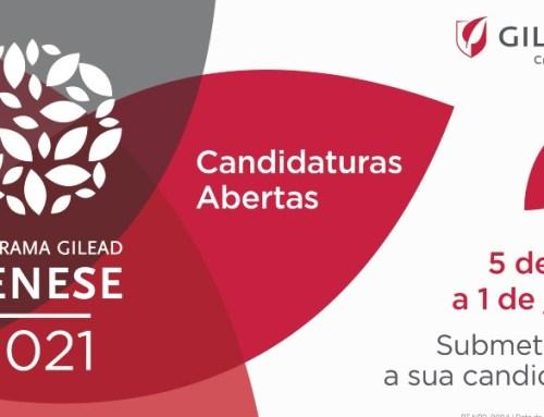 Candidaturas ao Programa Gilead GÉNESE abertas até 1 de junho