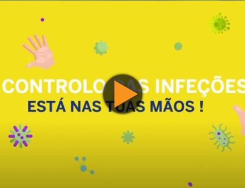 O controlo das infeções está nas tuas mãos