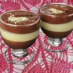 Mousse de Chocolate em Camadas