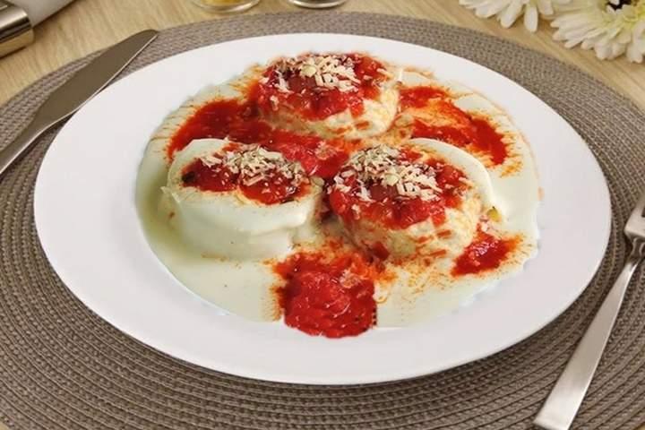 Rondelle de Tomate Seco e Ricota