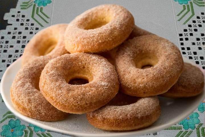 Donuts Assados