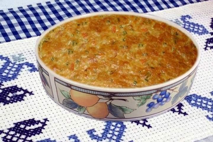 Torta de Repolho com Gorgonzola