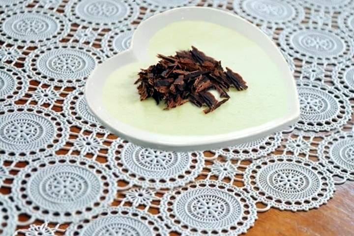 Mousse de Limão e Chocolate