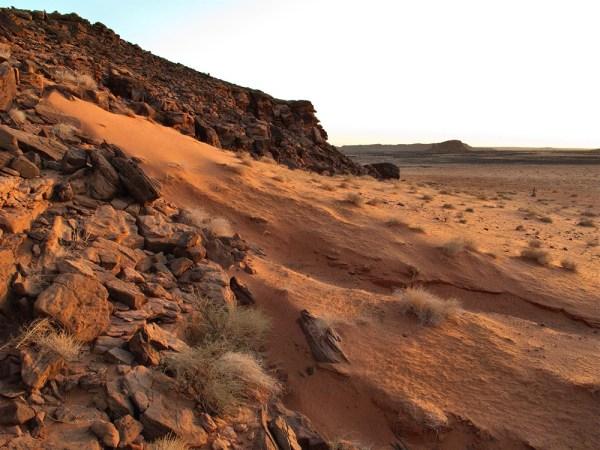 shuwaymis landscape - arabian rock