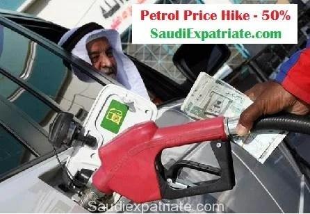 Saudi Arabia Fuel Hike more than 50% SaudiExpatriate.com