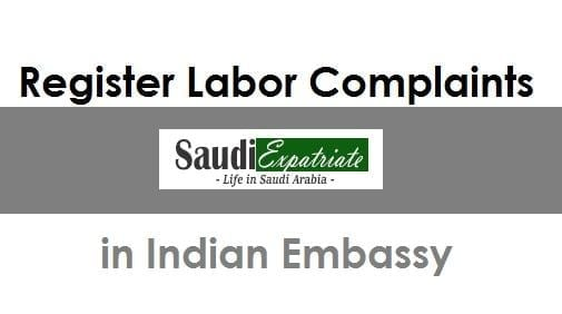Indians in Saudi can Submit Complaints on Labor Advisor-SaudiExpatriate.com
