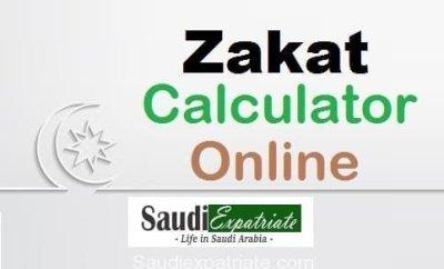 Calculate Zakat Now - Zakat Calculator Online-SaudiExpatriate.com