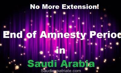 End of Amnesty Period in the Kingdom of Saudi Arabia-SaudiExpatriate.com