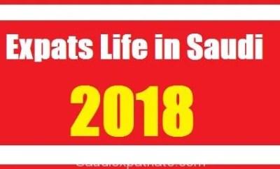 Expatriates Life in Saudi in 2018-SaudiExpatriate.com
