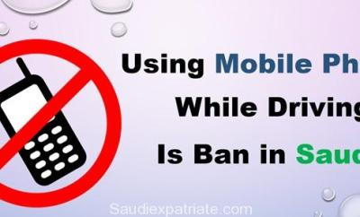 Using Mobile Phone while Driving is Ban in Saudi Arabia-SaudiExpatriate.com
