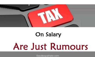 10% VAT Tax on Salary is Just Rumours-SauidExpatriate.com