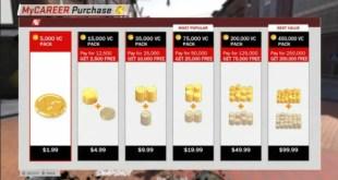خيارات شراء العناصر الشراء MICROTRANSACTIONS