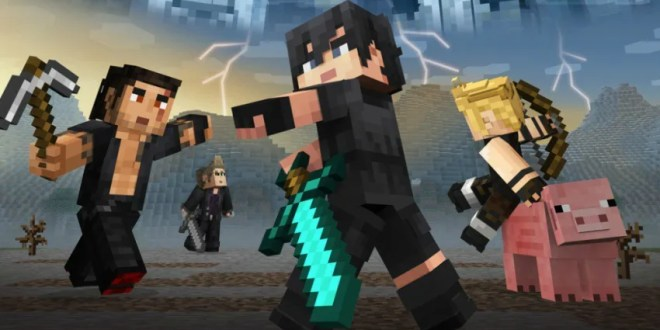 Final Fantasy XV Minecraft